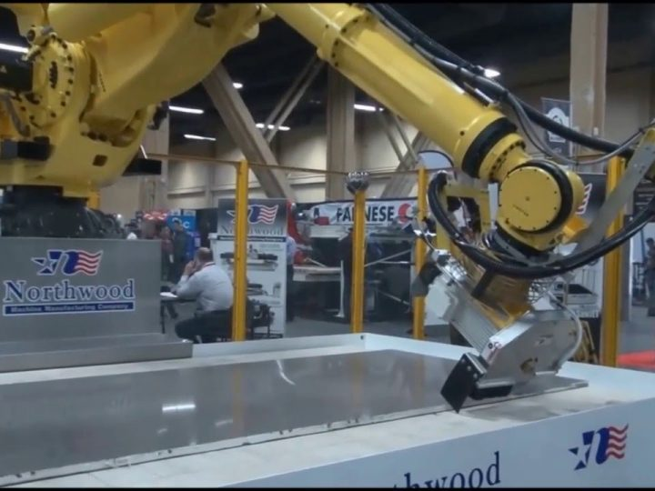 SawJet Robots for the Stone Cutting Industry